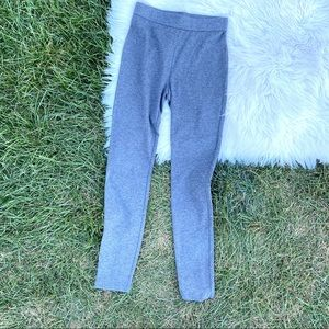 Vince Gray comfy cotton blend leggings medium